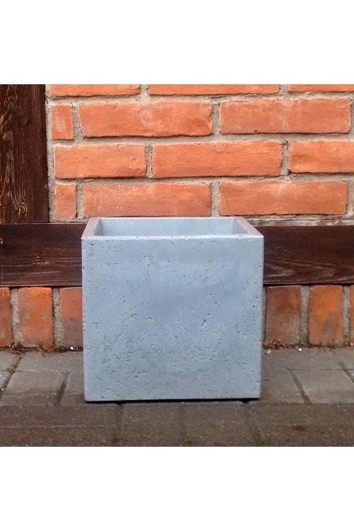 Donica C Cube Sześcian Jasnoszary 14302 30x30 Cm