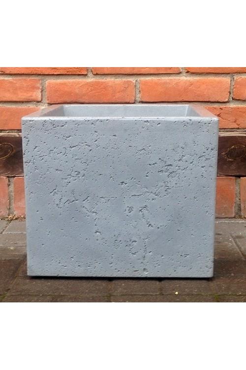 Donica C Cube Sześcian Jasnoszary 14303 40x40 Cm